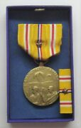 Ww Ii Asiatic Pacific Campaignmedal Setin Original Box With1 Battle Star