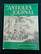 Antiques Journal 1962 Louis Amberg Dolls Rolling Pins Half Dimes Coins 4c Stamps
