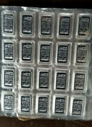 20 Johnson Matthey 1 Oz. Fine Silver Bars Factory Sealed .999 Fine 20 Ounces