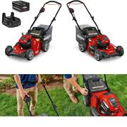 Snapper Hd 48v Max Cordless Electric 20-inch Lawn Mower Kit With 1 5.0 Battery