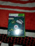Tiger Woods Pga Tour 13 Masters Collector's Edition Xbox 360 Brand New Sealed