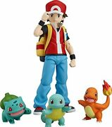 New Good Smile Company Figma Pokemon Red Abs Pvc /tracking Form