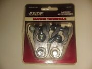 Exide Marine Battery Terminals 501042 Top Post / Wing Nut