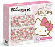 New Nintendo 3ds Customized Plate Pack Hello Kitty W/tracking