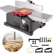 6 Inch Benchtop Jointer 10-amp Spiral Planer Corded Woodworking 9000prm 1280w
