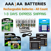 Rechargeable Batteries Aa Or Aaa All Count 4 8 12 16 Ni-mh Lot Battery Charger