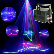 Remote 5w Sd Ilda Rgb Color Animation Scan Dj Party Stage Laser Projector Light