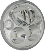 Vision X Xmc 5.75 Round Led Motorcycle Headlight With Halo For Harley Davidson