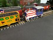 Lgb 21625 Stars And Stripes Diesel Switch Engine With Digital Decoder And Sound