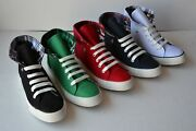 Bb-jeep Womenandrsquos Fashion Sneakers Canvas Shoes High Top Lace-up Shoes