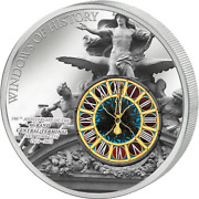Cook Islands 2013 Windows Of History Grand Central Terminal New York Silver Coin