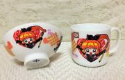 New Rare Kaito Saint Tail Tableware Mug Cup And Mini Bowl Set Of 2 Official Japan