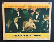 To Catch A Thief Original Lobby Card Grant Kelly Hitchcock Hollywood Posters