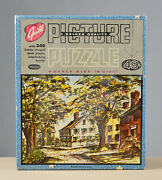 Vintage Guild Jigsaw Puzzle - 340 Pieces Pleasant Street By Whitman Used
