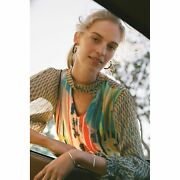 New Anthropologie Retro Peasant Blouse By Conditions Apply 130 Small