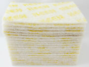 20- Pack White Cleaning Scuff Pads Non Abrasive Keen Abrasives 55049