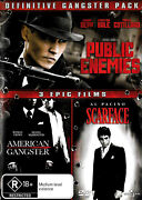 Public Enemies / American Gangster / Scarface The Gangster Collection - Dvd