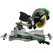 Metabo Hpt C8fsesm 8-1/2 In. Sliding Compound Miter Saw New