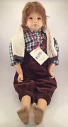 Steiff 705021 Doll Michael From Pink Adami Limited Series New Boxed