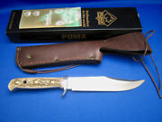 Vtg Bowie Knife 6396 440c High Carbon Steel 2010 Made In Germany Unused