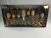 The Lord Of The Rings Limited Edition Eye Of Sauron Pez Collector's Series Dispe