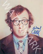Woody Allen Signed 10x8 Photo, Great Studio Shot Image, Looks Awesome Framed