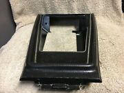 Used Ford D1zb-65044c74-awa 1971-73 Mustang Center Console Shifter Clock Bezel
