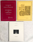 3 Heisey Glassware Books Encyclopedia Pictorial Directory And Catalog