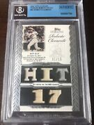 2006 Topps Sterling Roberto Clemente 5 Gu Jersey Bat 'd 1/10 Bgs Authenticated