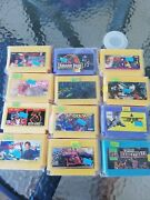 Old Stock Rare Vintage Famiclone Old Chips Famicom Nes Cartridge Games 12 Pcs