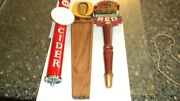 Cider Boars Head Weinhards Red Wheat Beer Tap Handles