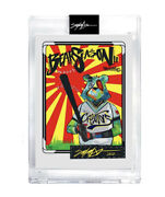 King Saladeen Jp Money Bear Topps Project 2020 Artist Proof Ed To 999 Sold Out