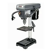 5 Speed Bench Pillar Drill Press For Wood Or Metal Hobby Portable Pedestal 8 In