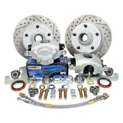 Master Power Brakes Legend Series Drilled And Slotted Front Brake Conversion Kit