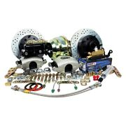 For Ford F-100 65-67 Legend Series Drilled And Slotted Front Brake Conversion Kit