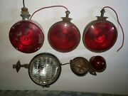 Antique Car Auto And Tractor Lights And Parts - Make Offer Andbull Rare ☆usa John Deere