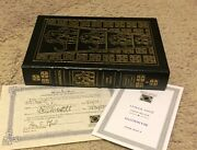 Signed First 320/900 Easton Press Mammoth By John Varley Time Travel