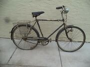 Vintage Jc Higgins Bicycle Hnl 3 Speed W/bicycle Generator W/front And Tail Lightandnbsp