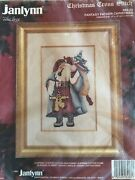 Janlynn Christmas Counted Cross Stitch Fantasy Father 89-30 Kit New Sealed