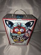 New Furby Boom Festive Sweater Edition Hasbro 2013 Red White Blue Factory Sealed