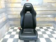 2012 Aston Martin Rapide Front Left Driver Seat Black Leather