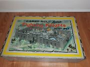 Louis Marx Fighting Knights Play Set Style No 4635