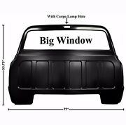 19671972 Chevy Pickup Truck Rear Back Outer Cab Panel Big Window W/cargo Lamp