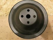 66 Only Chevrolet Passenger Car 283/327 W/p Pulley--gm 3879962--restored