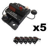 Qty5 Vcb60 Automotive 12v-48v 60 Amp Resettable Thermal Fuse Circuit Breaker