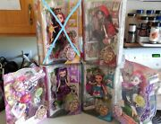 Ever After High Mib Lot Of 5 First Wave First Release From Justice 2013 Key Hole