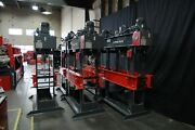 New Rmt H-fab H130 H Frame Press - Dual Operation- Hand And Motorized - Rolling