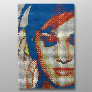 Jamminand039 Woman 600 Rubix Cube Mosaic Diy Puzzle Build Your Own Decor Craft Speed
