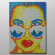 Model With Shades 560 Rubix Cube Mosaic Diy Puzzle Build Your Own Decor Craft Sp