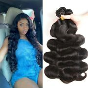 8-30 Inch 3 Bundles Indian Human Hair Body Wave 100 Human Remy Hair Weave Weft